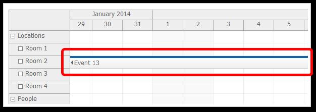 scheduler floating events true
